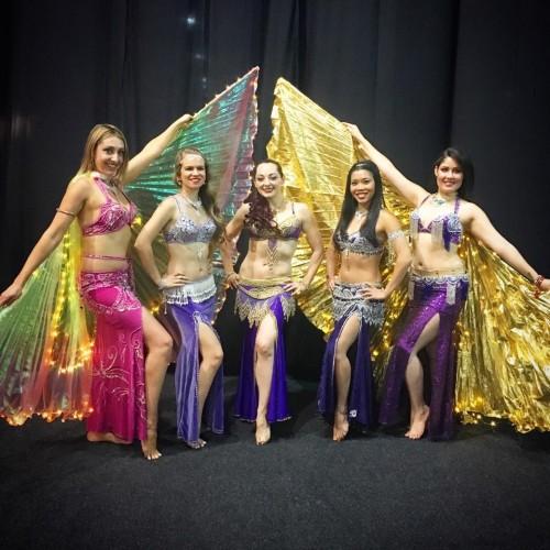 belly-dancers