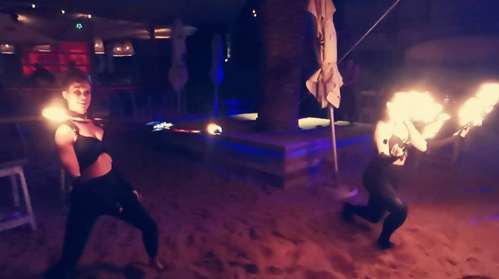 Fire Dancers 4