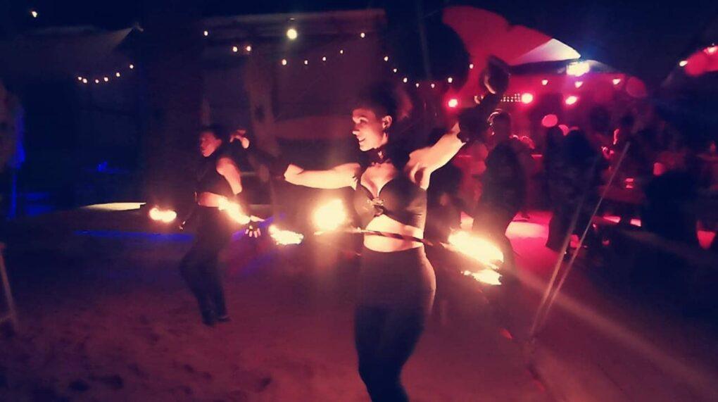 Fire Dancers 5